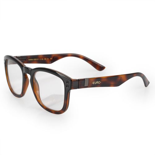 Óculos Euro Feminino Retangular Power Tartaruga E6006ADB51 8S - euro 4dcb87aa7d