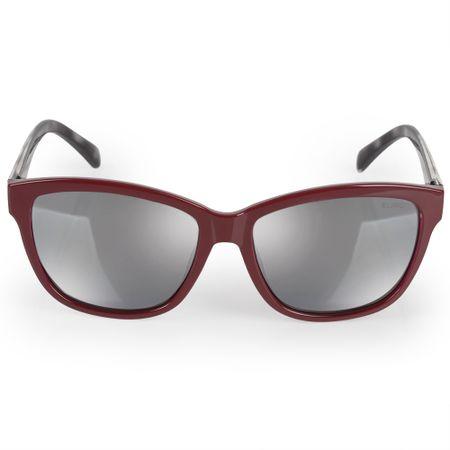 Óculos Euro Feminino Quadrado Colors Vinho E0018C6309/4C