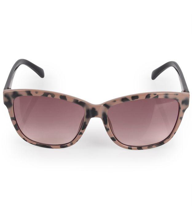 d30d4bc7139a1 Óculos Euro Feminino Quadrado Colors Nude E0018FD137 4P