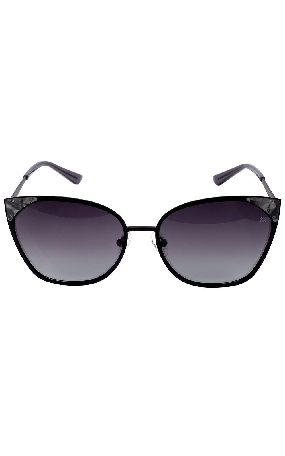 6d3f12928a97f Óculos Euro Feminino Gatinho Preto E0012A1433 4P