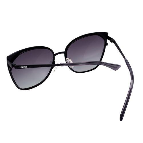 Óculos Euro Feminino Gatinho Preto E0012A1433 4P - euro 6e1f5ca9dc