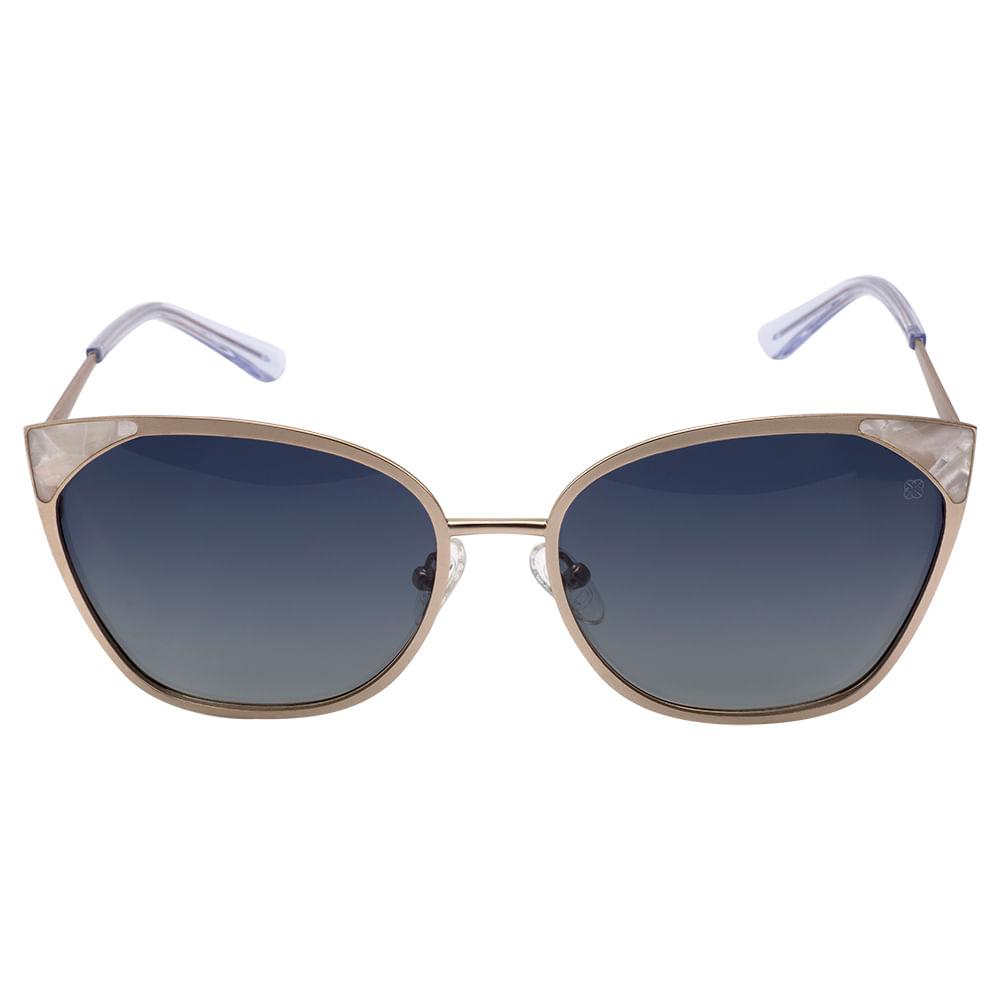 Óculos Euro Feminino Gatinho Rosé E0012E1186 4X - timecenter 98d8f04c05