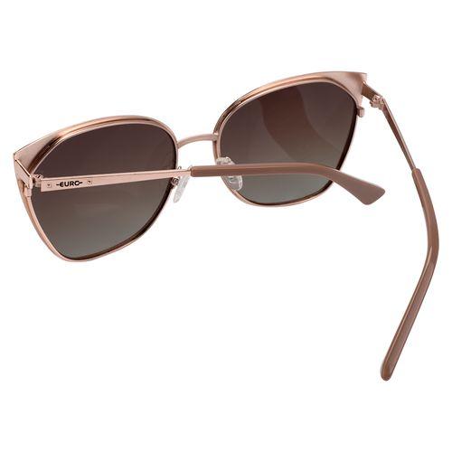 Óculos Euro Feminino Gatinho Rosé E0012E2934 4J - euro e5a25c0db0