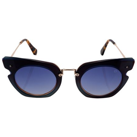 Óculos Euro Feminino Camadas Power Dourado E0016J2986/4A