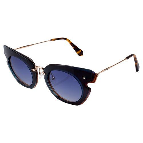Óculos Euro Feminino Camadas Power Dourado E0016J2986 4A - euro a1c3c71404