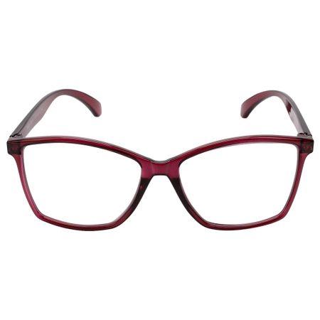 Óculos Euro Feminino Color Fun Vermelho E6007C2354/8R