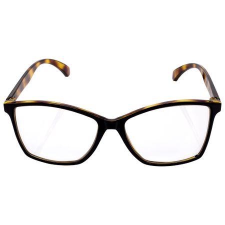 Óculos Euro Feminino Color Fun Tartaruga E6007AFU54/8Y