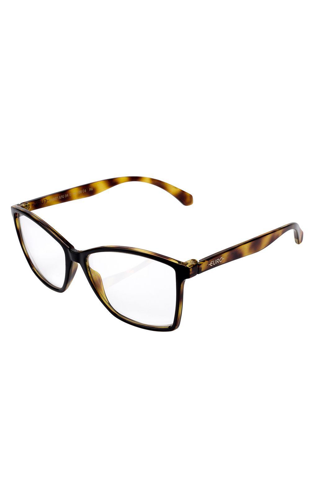 Foto 2 - Óculos Euro Feminino Color Fun Tartaruga E6007AFU54/8Y
