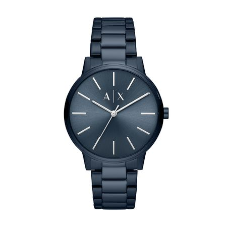 Relógio Armani Exchange Masculino Basic Azul AX2702/1AN