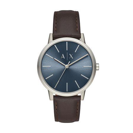 Relógio Armani Exchange Masculino Basic Prata AX2704/0MN