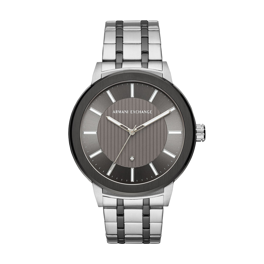 fc849f6b7ac Relógio Armani Exchange Masculino Maddox Prata AX1464 1KN - timecenter