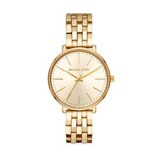 7bf334c23ca8c Relógio Michael Kors Feminino Pyper Dourado MK3898 1DN