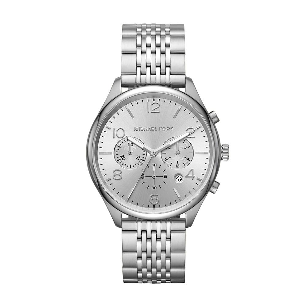 dc6b3bfa4 Relógio Michael Kors Feminino Merrick Prata MK8637/1KN - timecenter