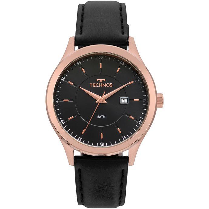 59c0e3c2953 Relógio Technos Masculino Steel Rosé 2115MPS 2P