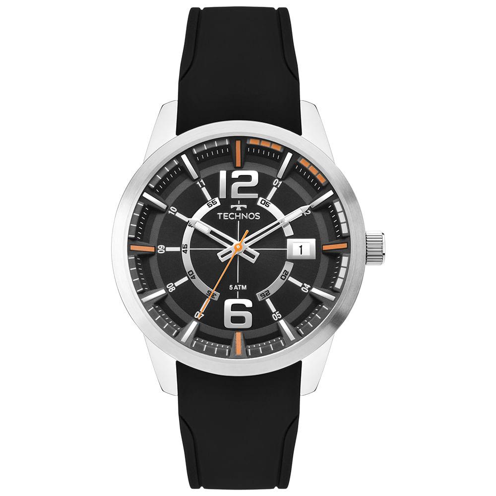 849cec81090 Relógio Technos Masculino Racer Prata 2315KZX 0P - timecenter