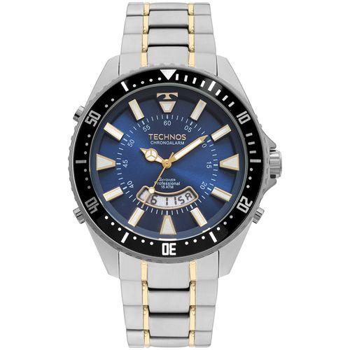 Relógio Technos Masculino Skydiver Prata T205JH/1A
