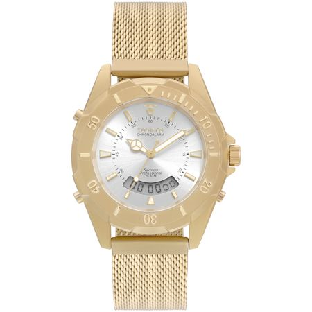Relógio Technos Feminino Skydiver Dourado T205JF/4K