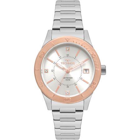 Relógio Technos Feminino Skydiver Bicolor 2115MOY/5K