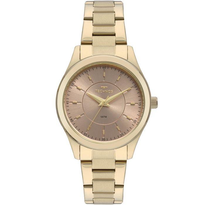 Relógio Technos Feminino Boutique Dourado 2035MNS 4J - technos 5cffabc68d