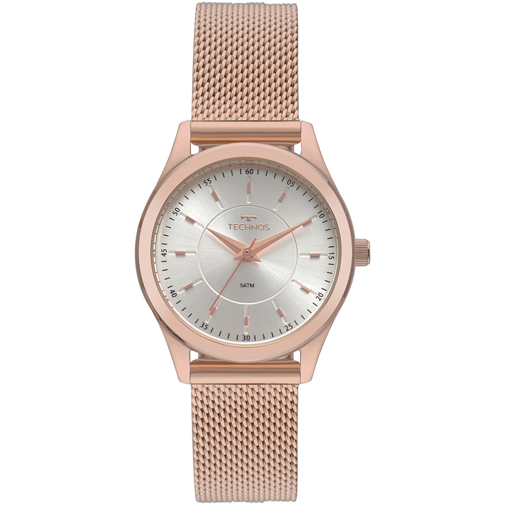 Relógio Technos Feminino Boutique Rosé 2035MNV 4K - timecenter a59b598ca0