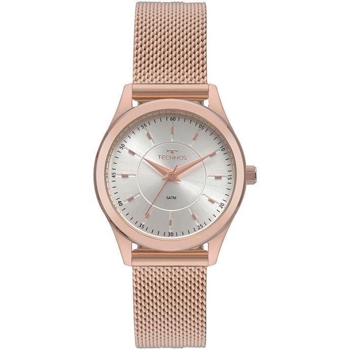 27e29672a72 Relógio Technos Feminino Boutique Rosé 2035MNV 4K