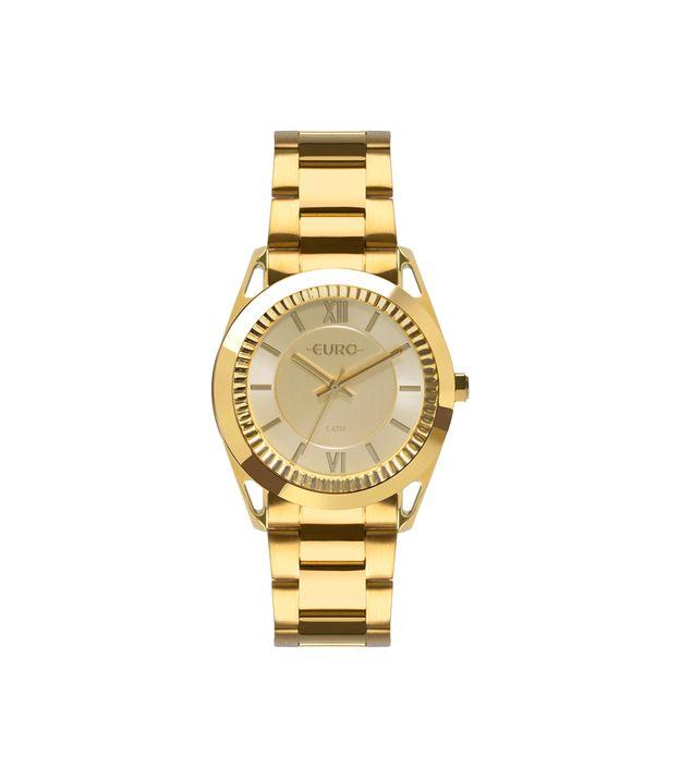 fa6a9bb948 Relógio Euro Feminino Metal Frame Dourado EU2035YPP 4D