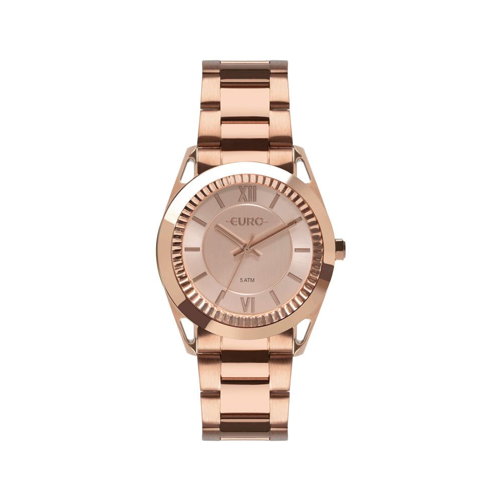8959fdc5d1a Relógio Euro Feminino Metal Frame Rosé EU2035YPR 4J - timecenter