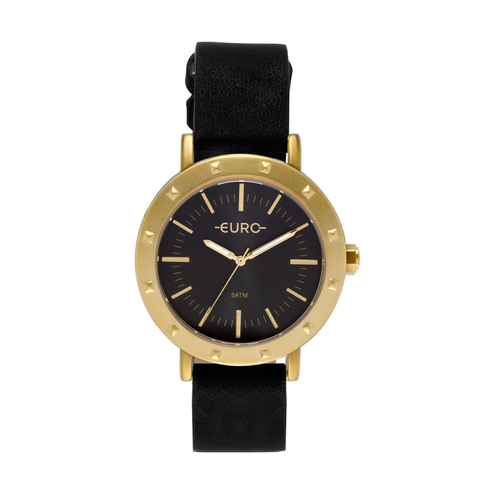 d515669b361 Relógio Euro Feminino Spike Fever Casual Dourado EU2035YPI 2P ...