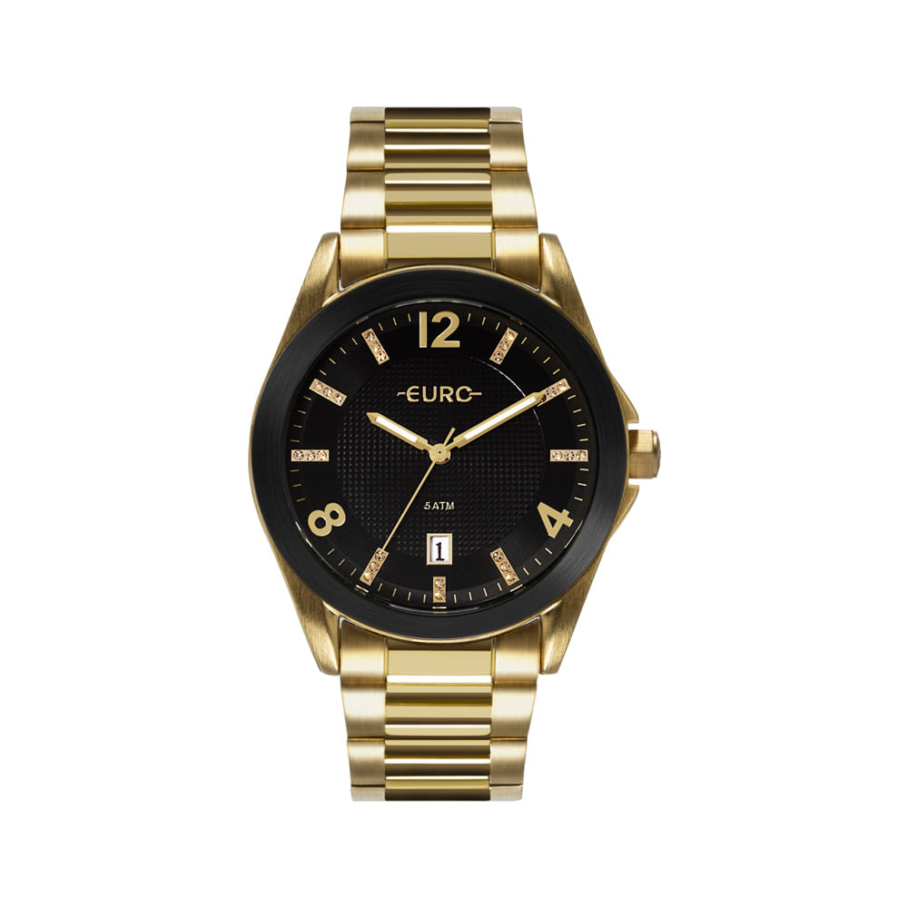37aead2e4bf Relógio Euro Feminino Color Mix Shine Dourado EU2315HM 4P - timecenter