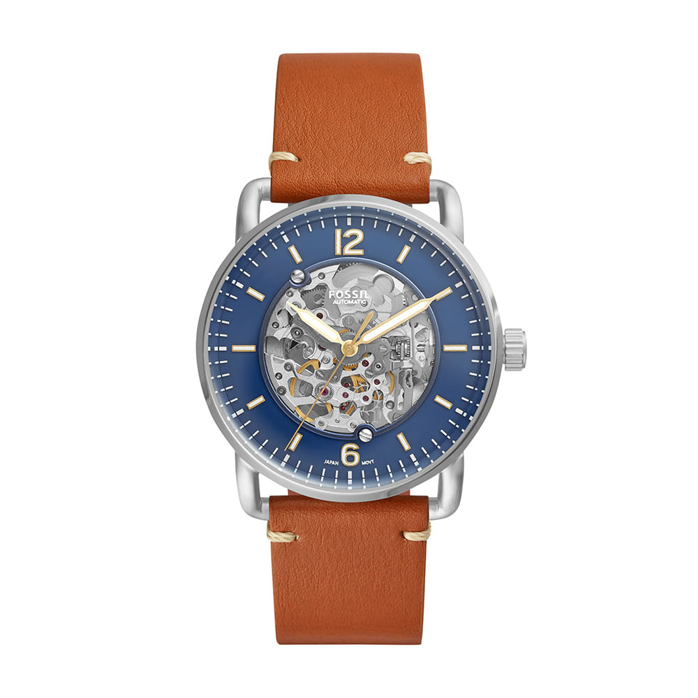 75885cd909bf Relógio Fossil Masculino The Commuter Prata ME3159 0MN - timecenter