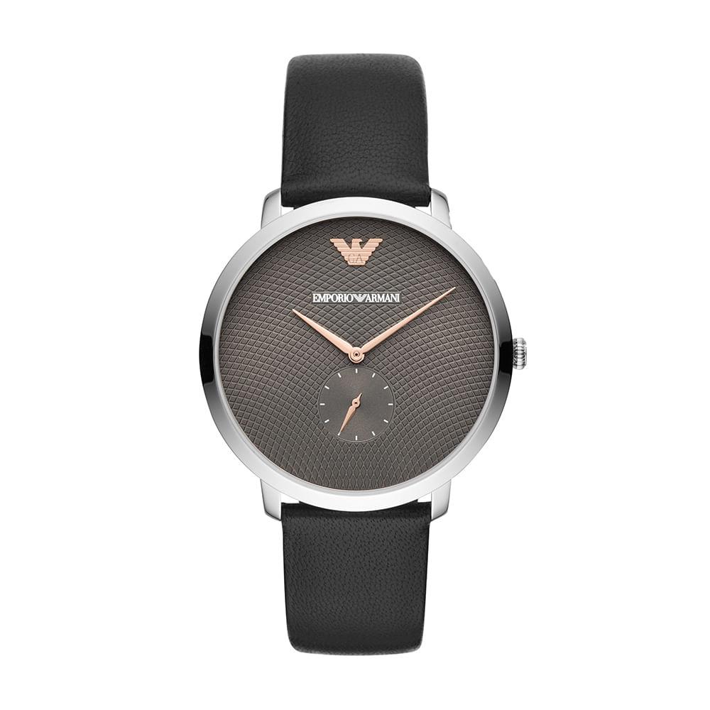 07c84c84278 Relógio Empório Armani Masculino Modern Slim Prata AR11162 0PN ...