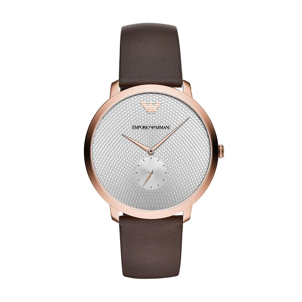 e24350f9212 Relógio Empório Armani Masculino Modern Slim Rosé AR11163 0PN ...