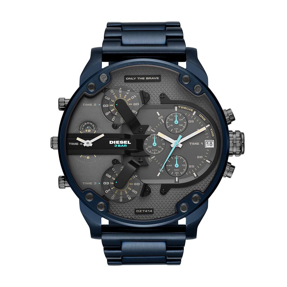5989b07aff8 Relógio Diesel Masculino Brave Blue Azul DZ7414 1AN - timecenter