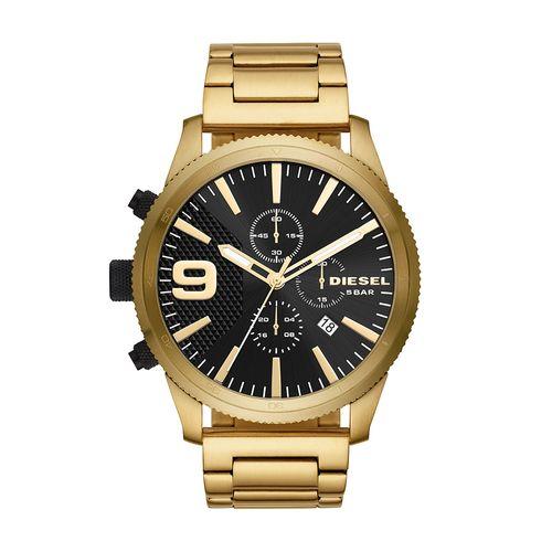 e617f24e377 Relógio Diesel Masculino Black And Gold Dourado DZ4488 1DN - timecenter