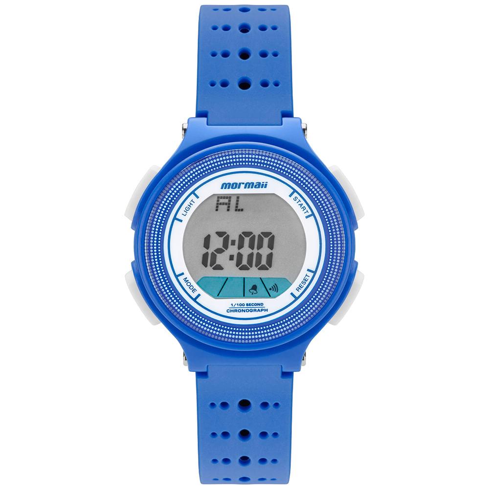 f5bec33279a54 MO09748A  MO09748A  MO09748A. Mormaii. Relógio Mormaii Infantil Nxt Azul ...