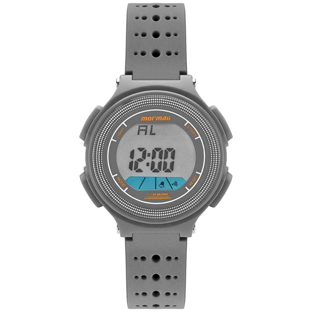 ab88d98ce669f Relógio Mormaii Infantil Nxt Cinza MO0974A 8C - timecenter