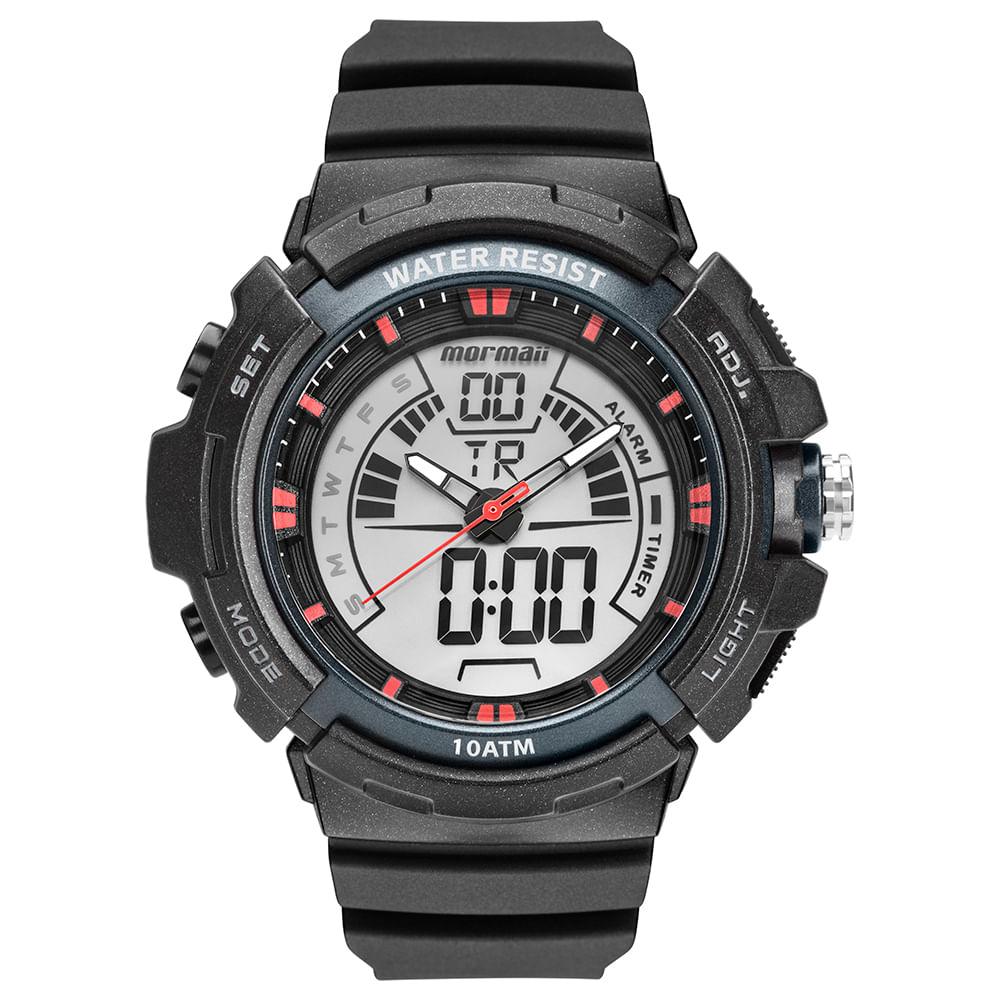 952b85a94 Relógio Mormaii Masculino Acqua Preto MO8902AA/8R - timecenter