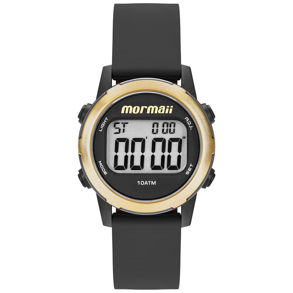 42d38431330 Relógio Mormaii Feminino Maui Dourado MO3700AA 8D - timecenter