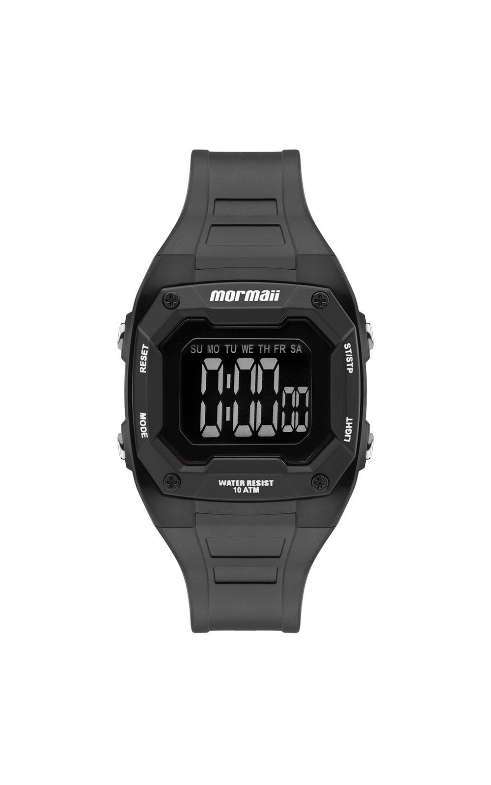 b4b385ddb6595 Relógio Mormaii Infantil Nxt Preto MO9451AB 8P. undefined