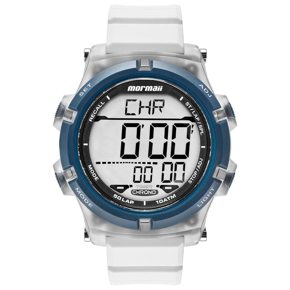 Relógio Mormaii Masculino Acqua Azul MO1192AA 8B - timecenter fed9461240