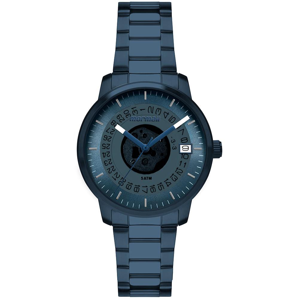 7059103d64a Relógio Mormaii Feminino Maui Azul MO2415AB 4A - timecenter