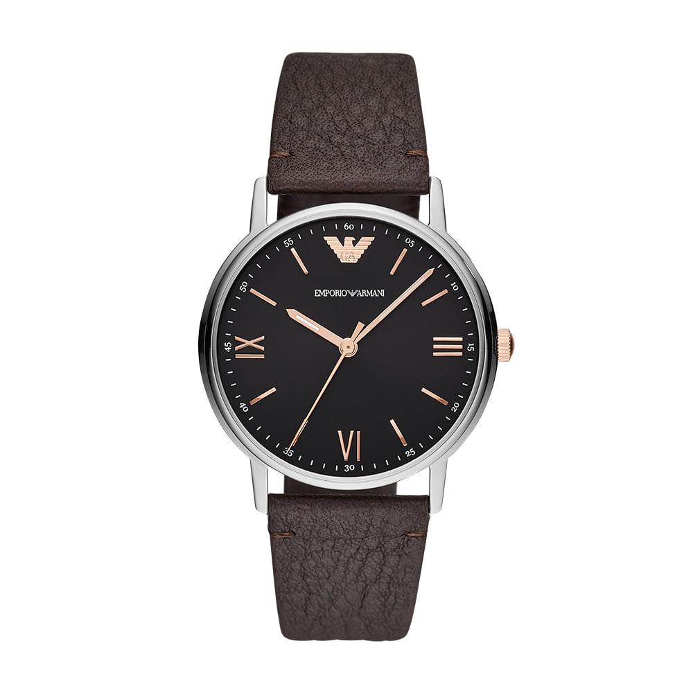 356127d4831 Relógio Empório Armani Masculino Kappa Prata AR11153 0MN - timecenter