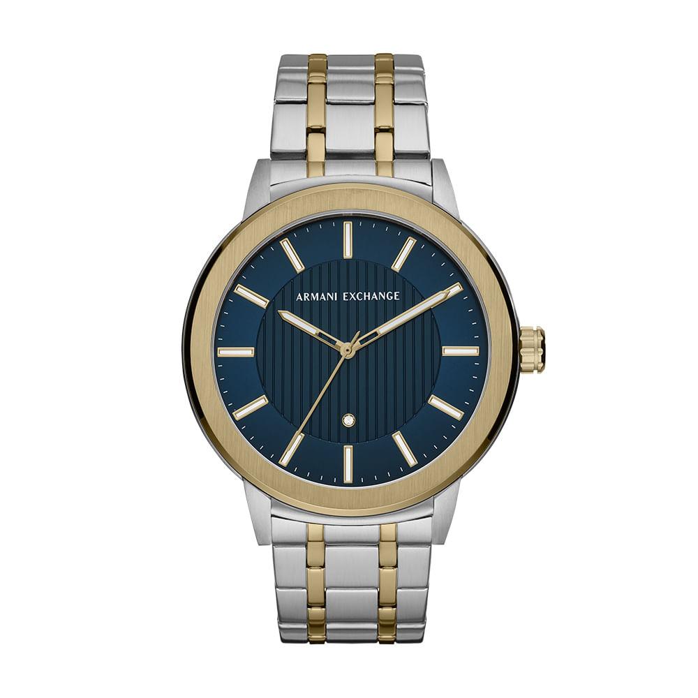 5fa0c985462 Relógio Armani Exchange Masculino Clássicos E Diferenciados Bicolor ...