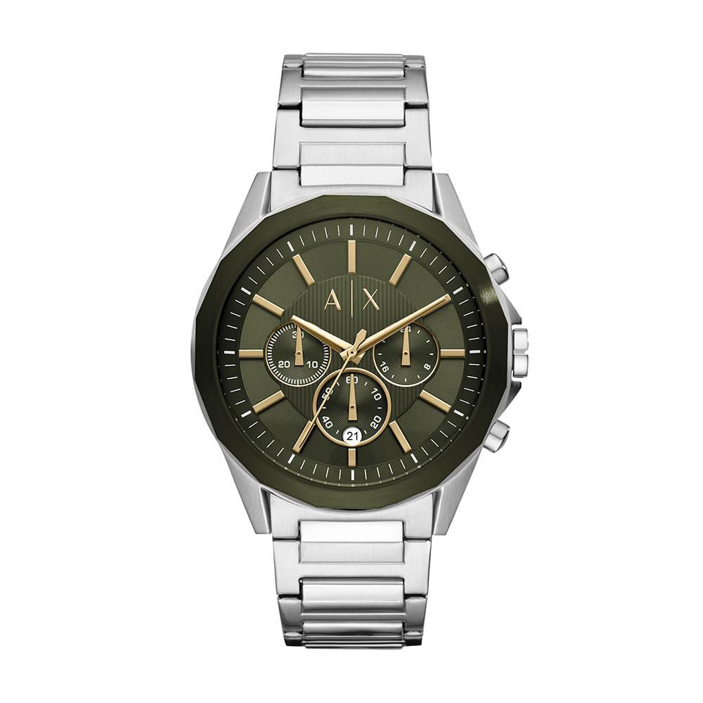 542370b7845 Relógio Armani Exchange Masculino Robustos Prata AX2616 1KN - timecenter