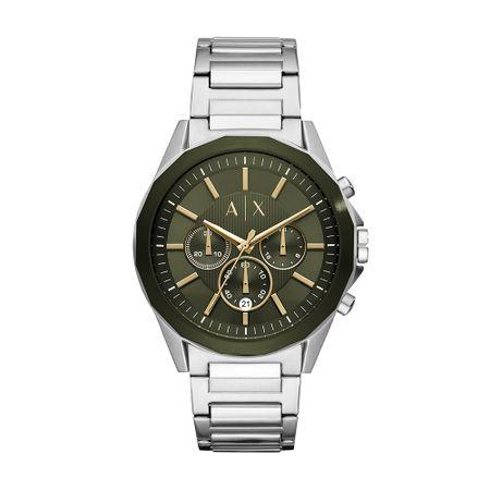 Relógio Armani Exchange Masculino Robustos Prata AX2616/1KN