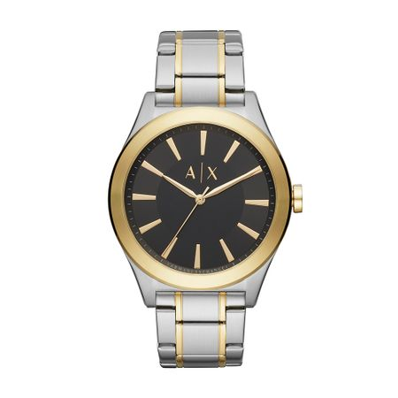 Relógio Armani Exchange Masculino Clássicos E Diferenciados Bicolor AX2336/1KN