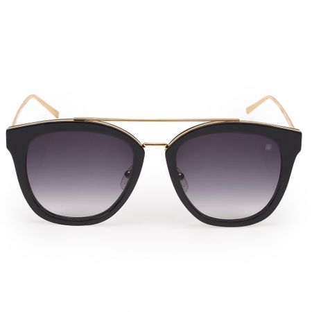 Óculos Euro Feminino Acetato Hit Preto E0010A3433/8P
