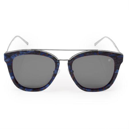 Óculos Euro Feminino Acetato Hit Azul E0010F9501/8A