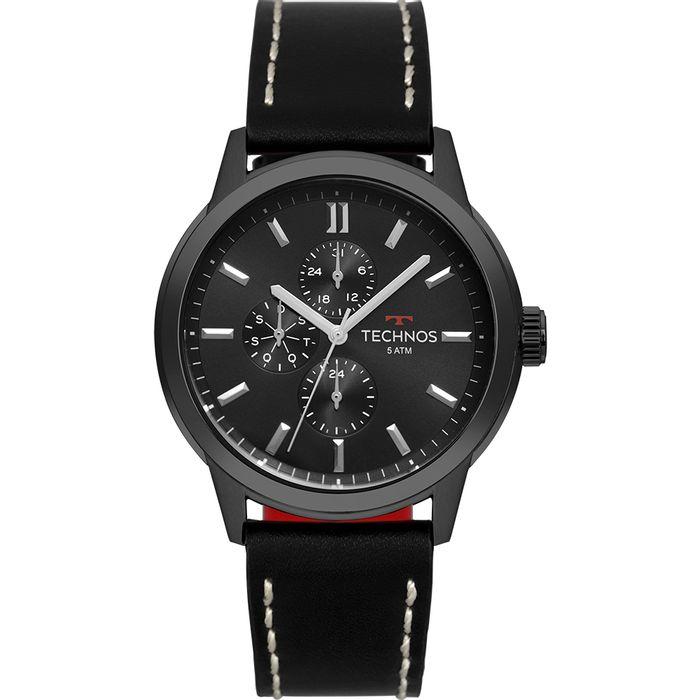 Relógio Technos Masculino Grandtech Preto 6P27DR 2P - technos c044637f6b