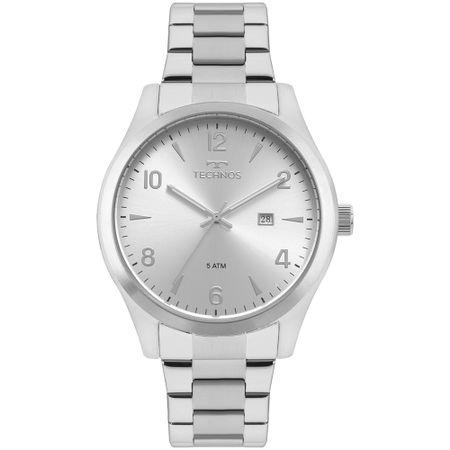 Relógio Technos Masculino Steel Prata 2115MRB/1K